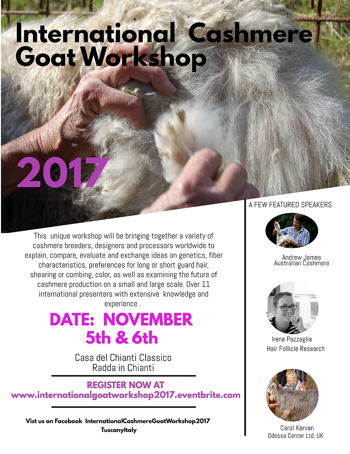 International Cashmere Goat Workshop